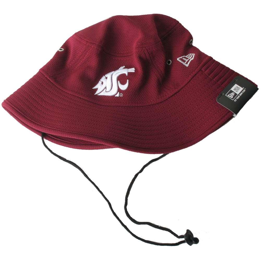 Washington State Cougars New Era Team Bucket Hat bb1ed20c367