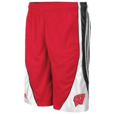 Adidas Wisconsin Badgers Flash Short