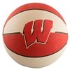Wisconsin Badgers Game Master Mini Rubber Basketball