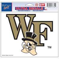 "Wake Forest Demon Deacons Ultra Decal 5"" x 6"""