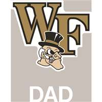 Wake Forest Demon Deacons Transfer Decal - Dad