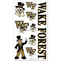 Wake Forest Demon Deacons Temporary Tattoos