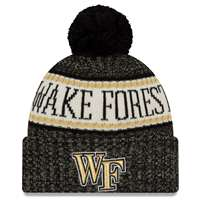 Wake Forest Demon Deacons New Era Sport Knit Beanie