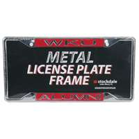 Western Kentucky Hilltoppers Metal Alumni Inlaid Acrylic License Plate Frame