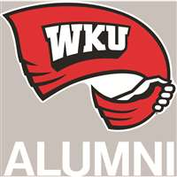 Western Kentucky Hilltoppers Transfer Decal - Alumni