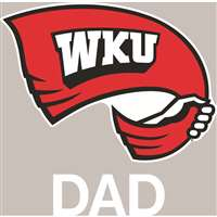 Western Kentucky Hilltoppers Transfer Decal - Dad