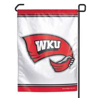 "Western Kentucky Hilltoppers Garden Flag By Wincraft 11"" X 15"""