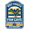 West Virginia Mountaineers Fan Cave Wood Sign