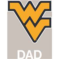 West Virginia Mountaineers Transfer Decal - Dad