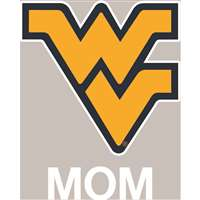 West Virginia Mountaineers Transfer Decal - Mom