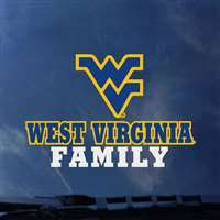West Virginia Mountaineers Transfer Decal - Family
