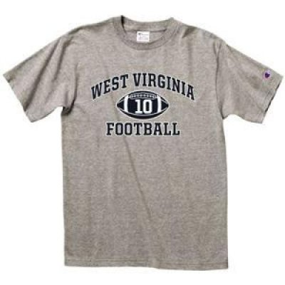 West Virginia Football T-shirt - West Virginia Arched Above