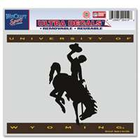 "Wyoming Cowboys Ultra Decals 5"" X 6"""