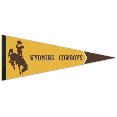 "Wyoming Cowboys Premium Pennant - 12"" X 30"""
