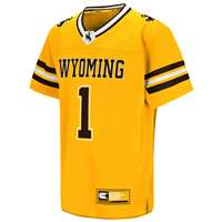 Wyoming Cowboys Youth Colosseum Hail Mary II Football Jersey
