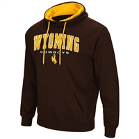 Wyoming Cowboys Colosseum Zone III Hoodie - Arch