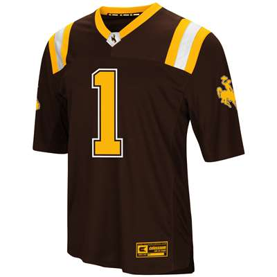 reputable site 80490 33c1d Wyoming Cowboys Colosseum Foosball Football Jersey