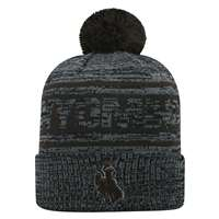 Wyoming Cowboys Top of the World Sock It 2 Me Knit Beanie