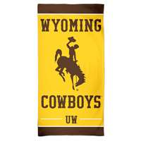 Wyoming Cowboys Spectra Beach Towel