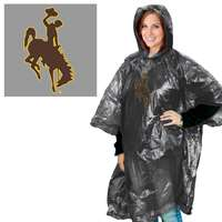 Wyoming Cowboys Rain Poncho