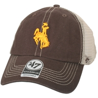 Wyoming Cowboys '47 Brand Trawler Clean Up Adjustable Hat