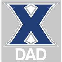 Xavier Musketeers Transfer Decal - Dad