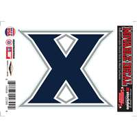 Xavier Musketeers Repositionable Vinyl Decal