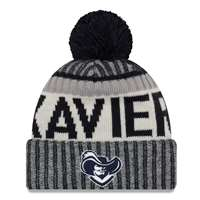 Xavier Musketeers New Era Sport Knit Beanie